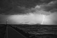 Storm over Lake Balaton