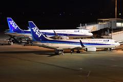 Airbus A321-211 'JA114A' & Boeing 737-881 'JA62AN' All Nippon Airways