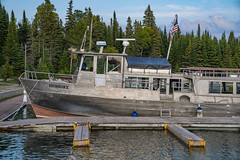 Voyageur II Ferry Boat at Rock Harbor, Isle Royale National Park