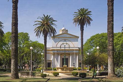 Plaza Contitucion en San Pedro