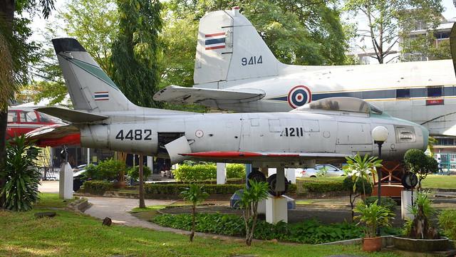North American F-86F Sabre c/n 191-178 Thailand Air Force serial Kh17-21/04 code 1211 preserved as