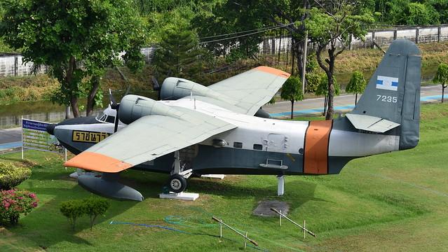 Grumman HU-16B Albatross c/n G-321 Thailand Navy serial 7235 preserved at the Naval Museum, Bangkok