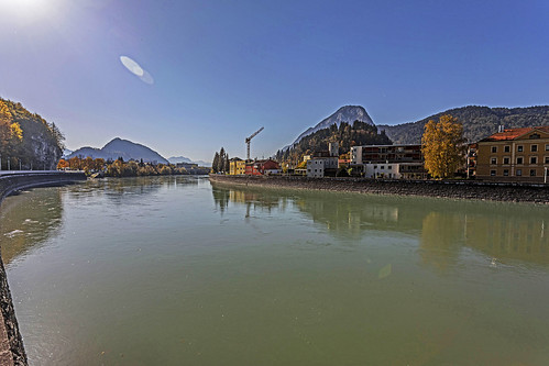 River Inn. Kufstein, Tyrol.