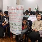 Audiência sobre o fechamento das escolas abertas no RS