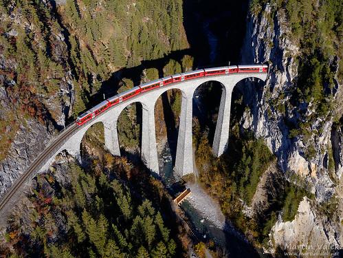 Alvra, IR 1152, Landwasser Viaduct, Filisur - Alvaneu (Switzerland)