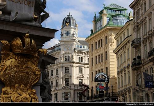 View along Graben, Vienna, Austria