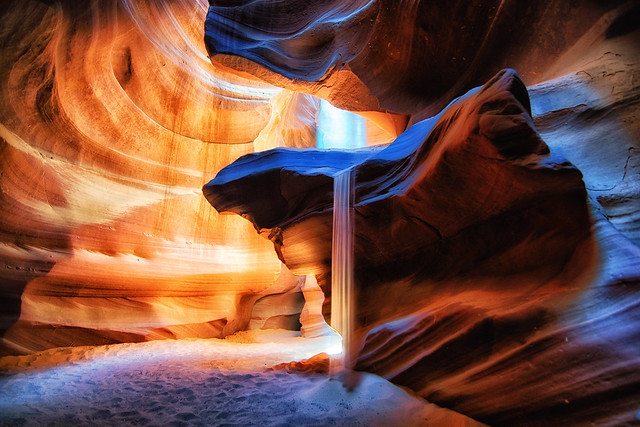 Fontaine de sable