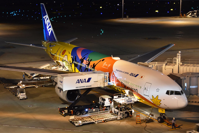 Boeing 777-281 'JA741A' All Nippon Airways (Tokyo 2020 livery)