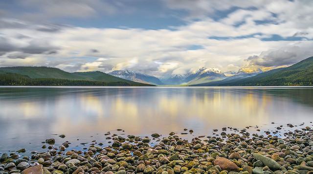 Un lac coloré