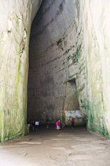 The Ear of Dionysius, Syracuse, Sicily