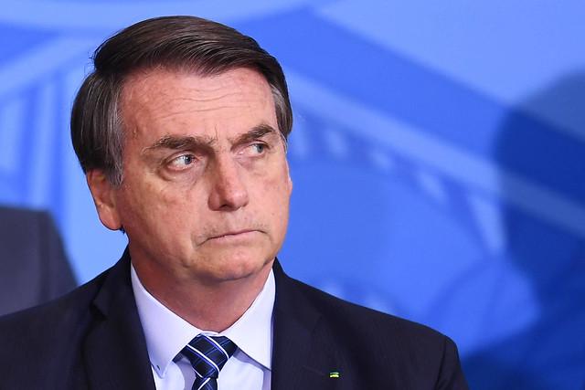 """Dunker comparou Bolsonaro com o pai de Brás Cubas: aquele que exige uma aparência em público, mas sanciona maus-tratos no """"privado"""" - Créditos: Evaristo Sa/AFP/Getty Images"""