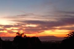 Sunset, Mt Tamalpias from Oakland hills IMG_3736 (4)
