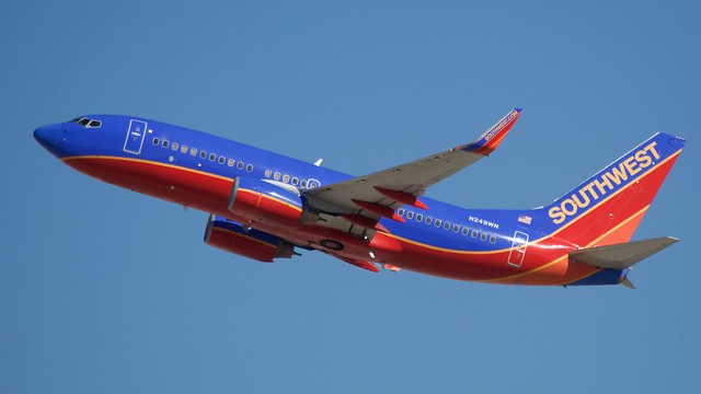 Southwest Airlines 737 -700 N249WN DSC_0233