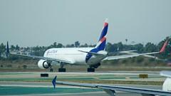 LATAM Boeing 767 -300ER. Takeoff, 24L, LAX DSC_0530