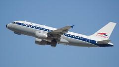 American Airlines Airbus 319 retrojet in Allegheny colors N745VJ DSC_0265