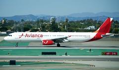 Avianca Airbus A321 N568TA takeoff at LAX DSC_0364 (1)