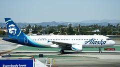 Alaska Airlines Airbus A320 N626VA DSC_0414