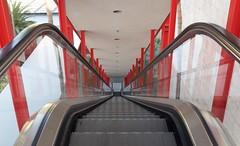 Escalator  LA County Art Museum DSC_0077