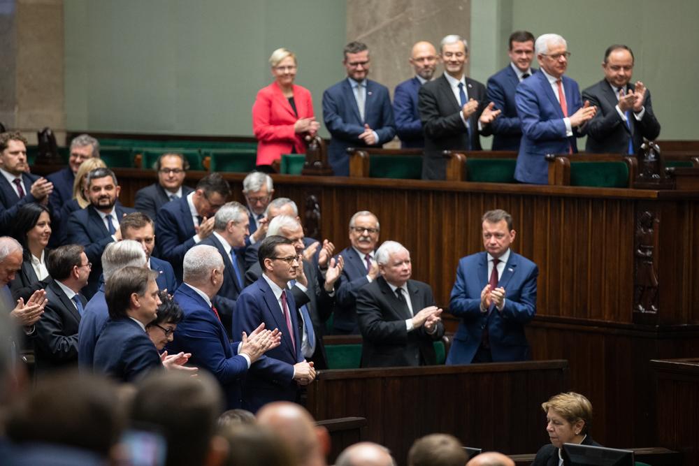 List Prezesa PiS Jarosława Kaczyńskiego