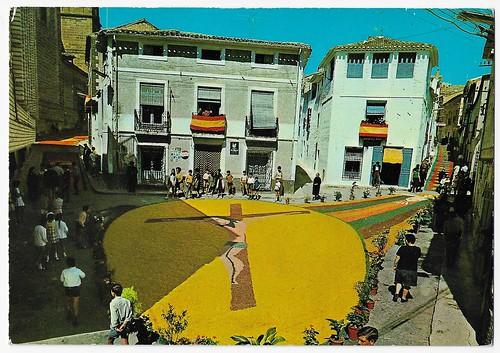 Elche de la Sierra (Albacete) [Material gráfico] : Plaza de Sacramentos Valcarcel