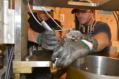 Mechanical Technicians At the Pueblo Chemical Agent-Destruction Pilot Plant