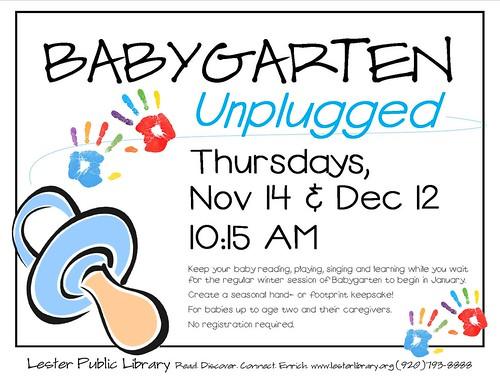 Babygarten Unplugged