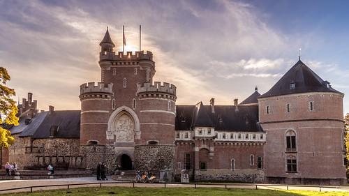 Gaasbeek, Kasteel van Gaasbeek (Hoofdingang).
