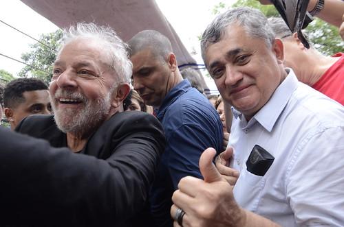 Lula em São Bernardo do Campo