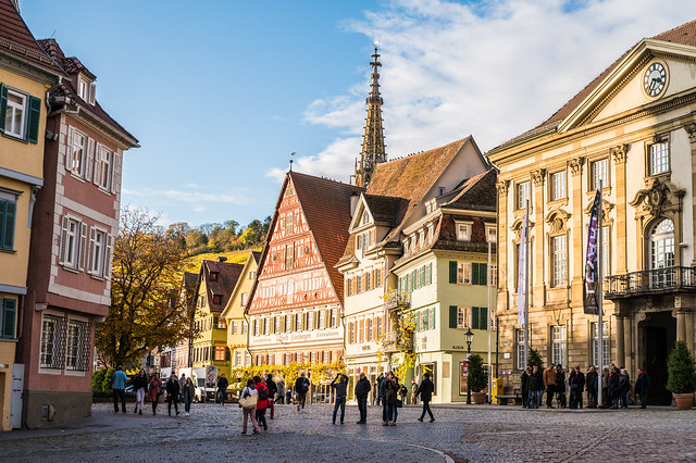 Esslingen Street Scene