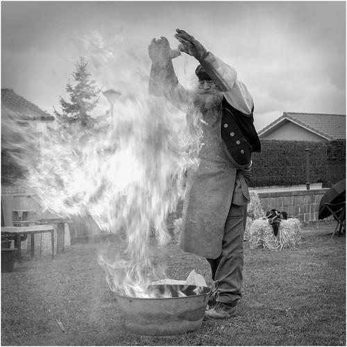 Blas y el fuego