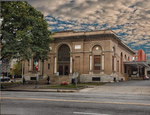 United States Post Office - Saratoga Springs - Architecture - Beaux Arts