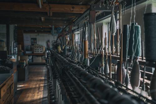 Wollspinnerei