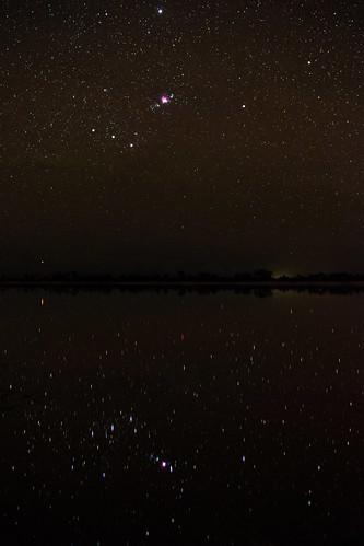 Orion Reflected - Yenyening Lakes, Western Australia