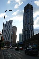 Skyscrapers in Vauxhall