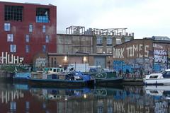 Dark Times in Hackney Wick