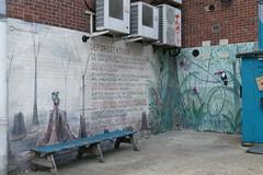 'Deforestation' by Michelle Meola, Wallis Road, Hackney Wick