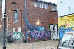 Street Art, Wallis Road, Hackney Wick