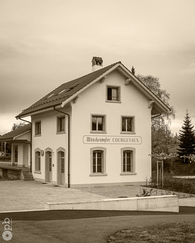 Ancienne gare de Münchenwyler-Courgevaux