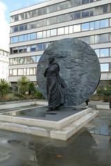 Mary Seacole by Martin Jennings, Saint Thomas' Hospital