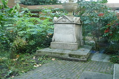William Bligh Grave, The Garden Museum Cafe