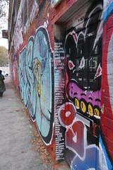 A Message on Bream Street, Hackney Wick