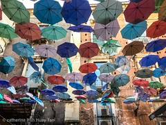 Umbrellas, Catania Fish Market, Sicily