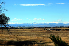 Mount Evans in the distance...