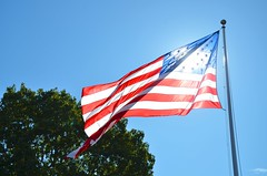 Flag At Sagamore Hill