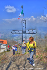"""Somma Vesuviana (NA), 2010, Il """"sabato dei fuochi"""" sul Monte Somma."""
