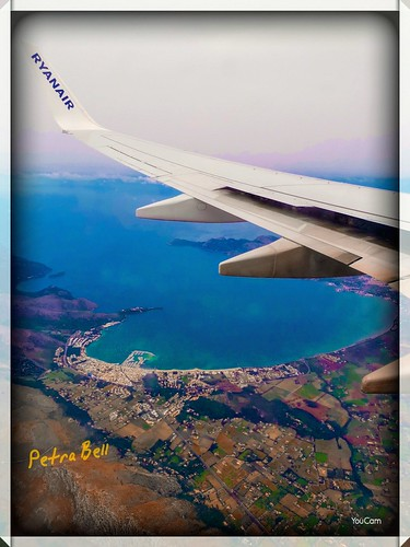 Aerial view Mallorca, Spain