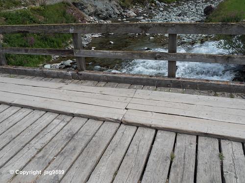 JUL190 Stalveder Road Bridge over the Gelgia River, Bivio, Canton of Grisons, Switzerland