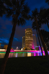 Tampa Riverwalk Morning Vertical