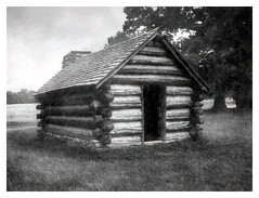 18th Century Log Cabin (Reconstruction)