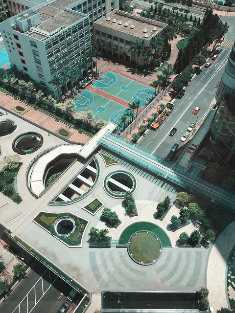 Rooftop in Hong Kong